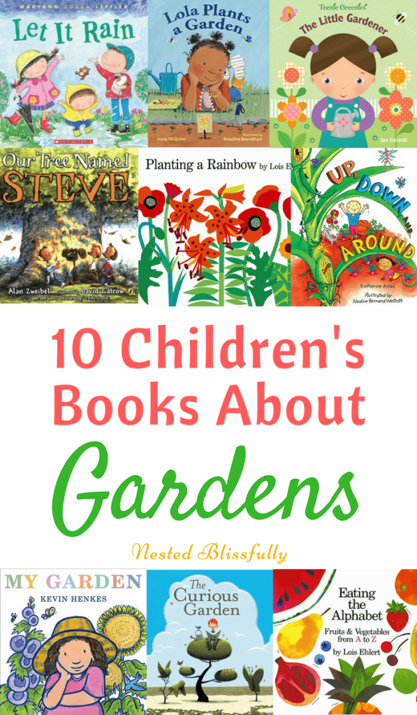 10 Best Gardening Books for Kids - For Babies through Preschoolers