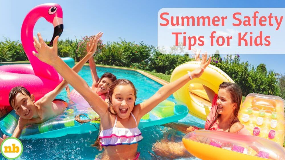 summer safety tips for kids.