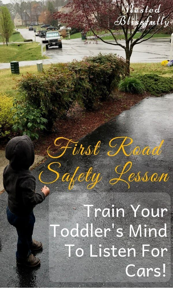First Road Safety Lesson - Train you child's mind to listen for cars as soon as they are babies, so they never disobey this rule!